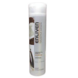 Enliven coconut and vanilla shampoo 400ml