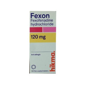 Fexon 120mg 10 film coated tablets
