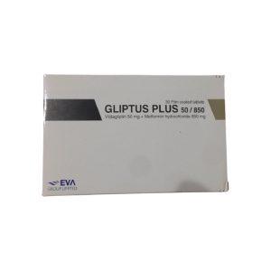 Gliptus plus 50mg 850 mg 30 F.C tablets .