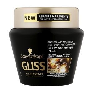Gliss hair mask for damaged and dry hair 300ml