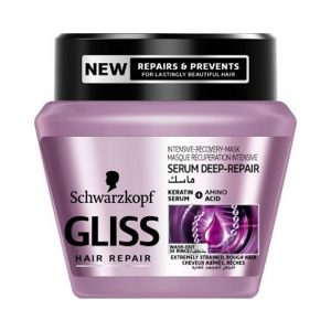Gliss hair mask for extremely strained rough hair 300ml
