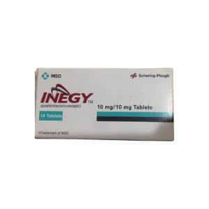 Inegy 10mg 10mg 14 tablets