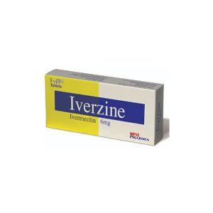Iverzine 8 tabs