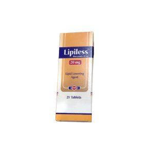 Lipiless 20mg 21 tabs