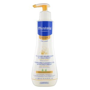 Mustela nourishing cleansing gel with cold cream 300 ml