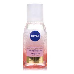 Nivea natural fairness eye makeup remover 125ml