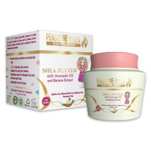 Penduline Shea kids hair cream with banana Extract 150 ml