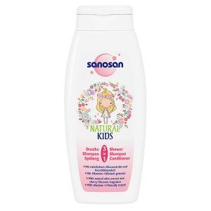 SANOSAN SHOWER and SHAPMOO 3 in 1 250ML