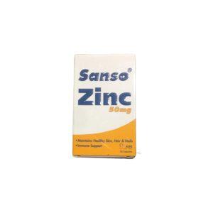 Sanso Zinc 50mg 30caps