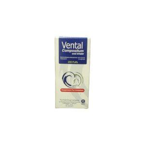 Vental compositum oral inhaler