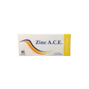 Zinc A.C.E 20 enteric coated tabs