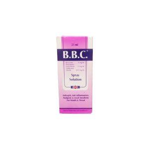 B.B.C spray solution 25ml