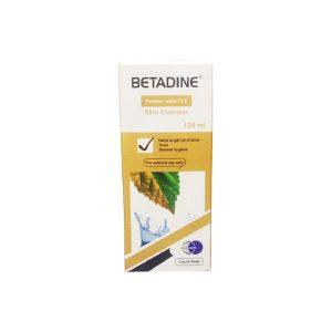 Betadine skin cleanser 120 ml