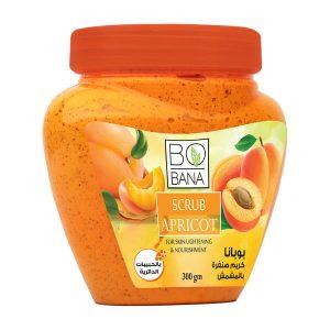 Bobana scrub Apricot 300gm