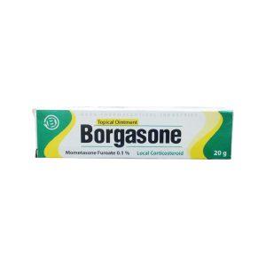 Borgasone topical ointment 20gm.