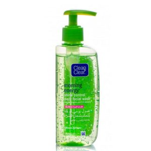 Clean and Clear Shine control daily facial wash 150ml