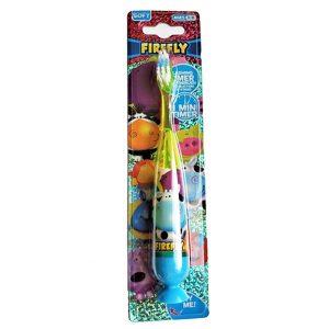 Firefly flashing timer toothbrush