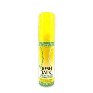 Fresh Talk lemon fresh mouth spray