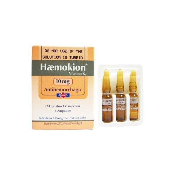 HAEMOKION 10MG I.M 3AMP