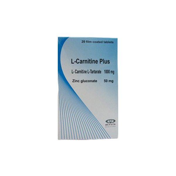 L CARNITINE PLUS 20T