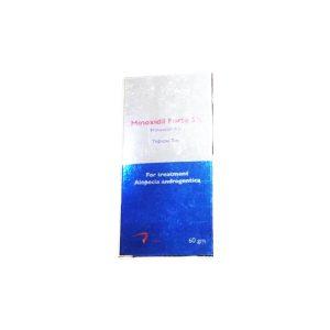 Minoxidil forte 5 topical gel 60gm
