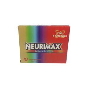 NEURIMAX 2ML 6AMP.