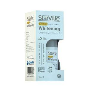 Starville whitening roll on 60ml