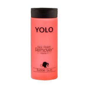 Yolo nail polish remover bubble gum 135ml