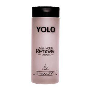 Yolo nail polish remover cappuccino 135ml