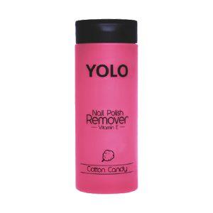Yolo nail polish remover cotton candy 135ml