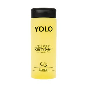 Yolo nail polish remover lemon 135ml