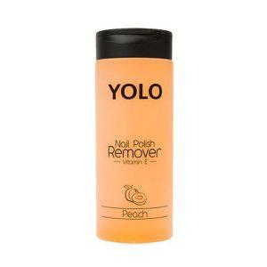 Yolo nail polish remover peach 135ml