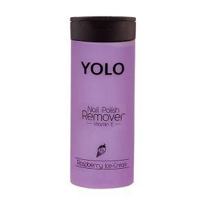 Yolo nail polish remover raspberry ice cream 135ml