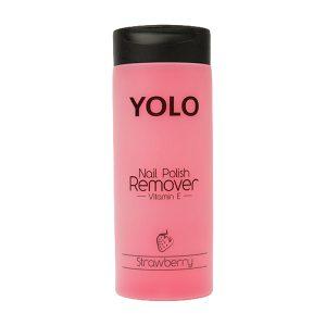 Yolo nail polish remover strawberry 135ml