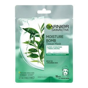 Garnier tissue mask hydra bomb