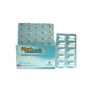 NETLOOK 20 MG 20 CAP