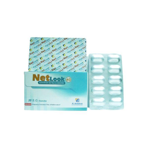 NETLOOK 40 MG 20 CAP