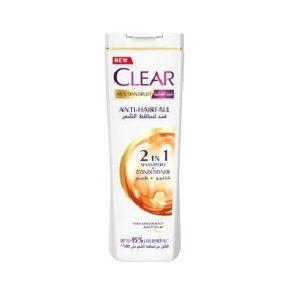 Clear anti dandruff anti hair fall shampoo 360ml