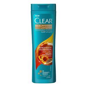 Clear scalpfoods anti dandruff shampoo 180ml