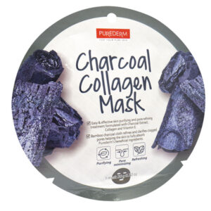 Purederm Charcoal collagen sheet mask