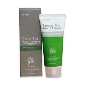 3W clinic green tea foam cleansing 100ml