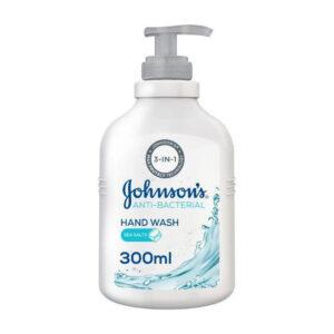 Johnsons hand wash with sea salts 300ml