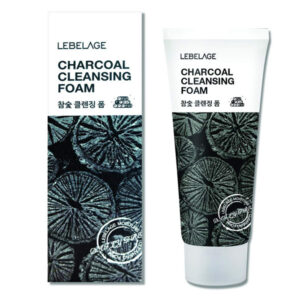 Lebelage charcoal cleansing foam 100ml