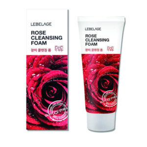 Lebelage rose cleansing foam 100ml