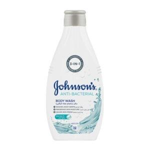 Johnsons anti bacterial body wash 400ml