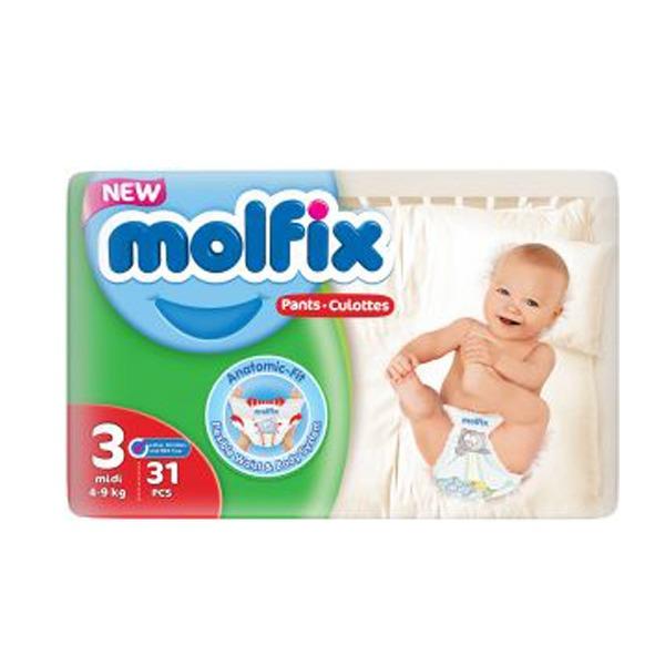 Molfix pants 3 31 pieces
