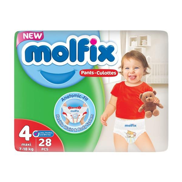 Molfix pants 4 28 pieces