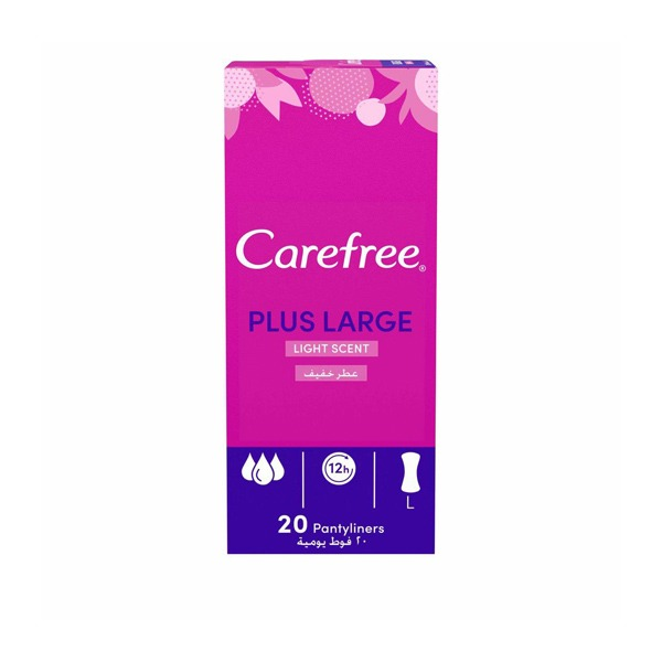 CAREFREE FRESH SCENT 20PADS.