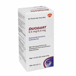 Duodart 0.5mg 0.4mg 30 capsules