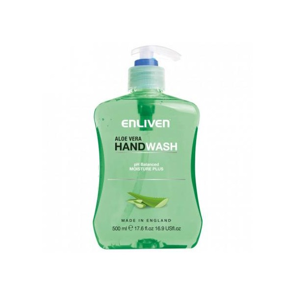 ENLIVEN HAND WASH ALOE VERA 500ML. 300x300 1